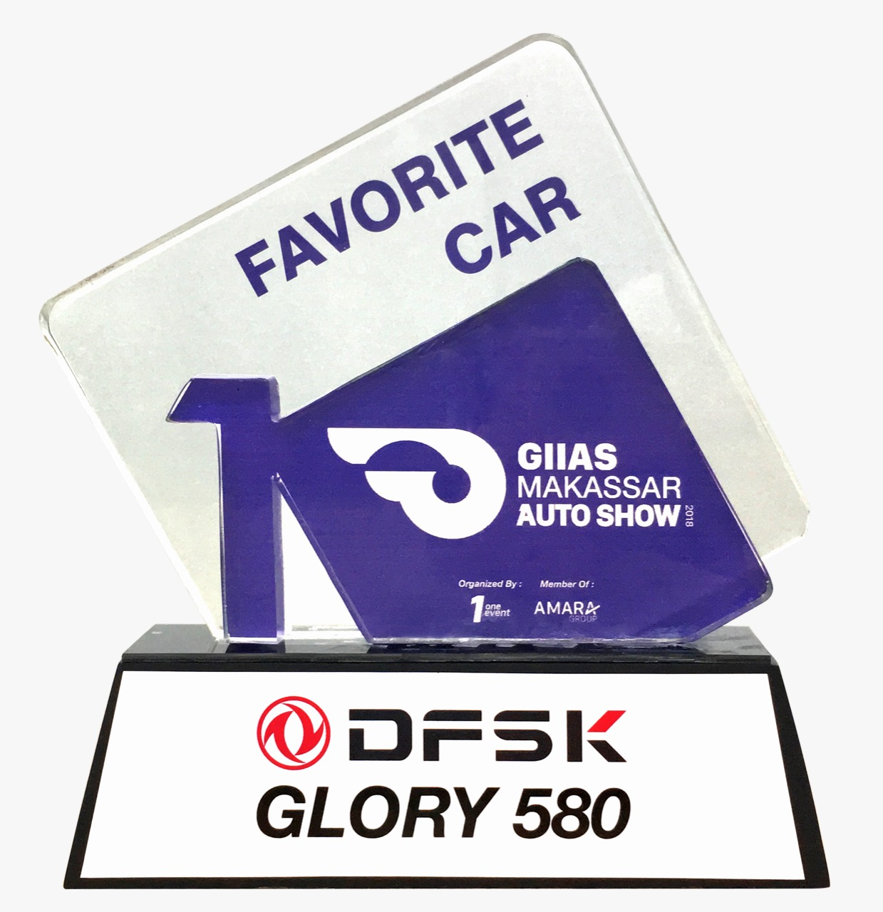 GIIAS Makassar 2018 First Winner Favorite Car - DFSK Glory 580