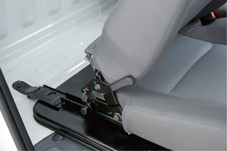 Seat Forward Backward Sliding with Convenient Adjustment