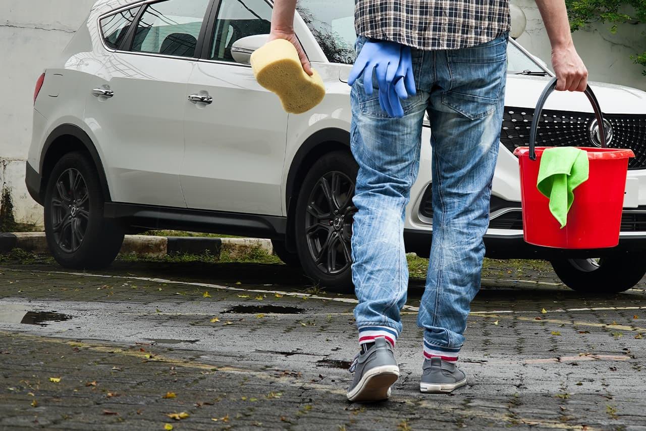 Ini Cara yang Benar dan Cepat Mencuci Mobil saat #dirumahaja