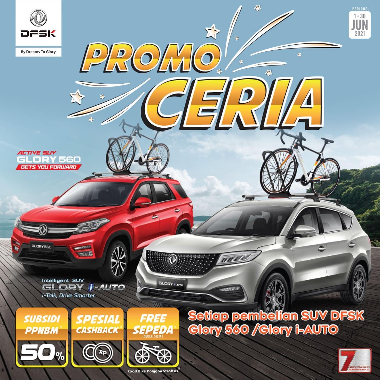 Beli DFSK Glory Series Berhadiah Road Bike