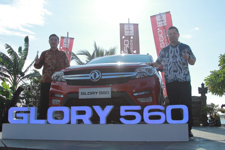 Penampilan Perdana DFSK Glory 560 untuk Media di Indonesia