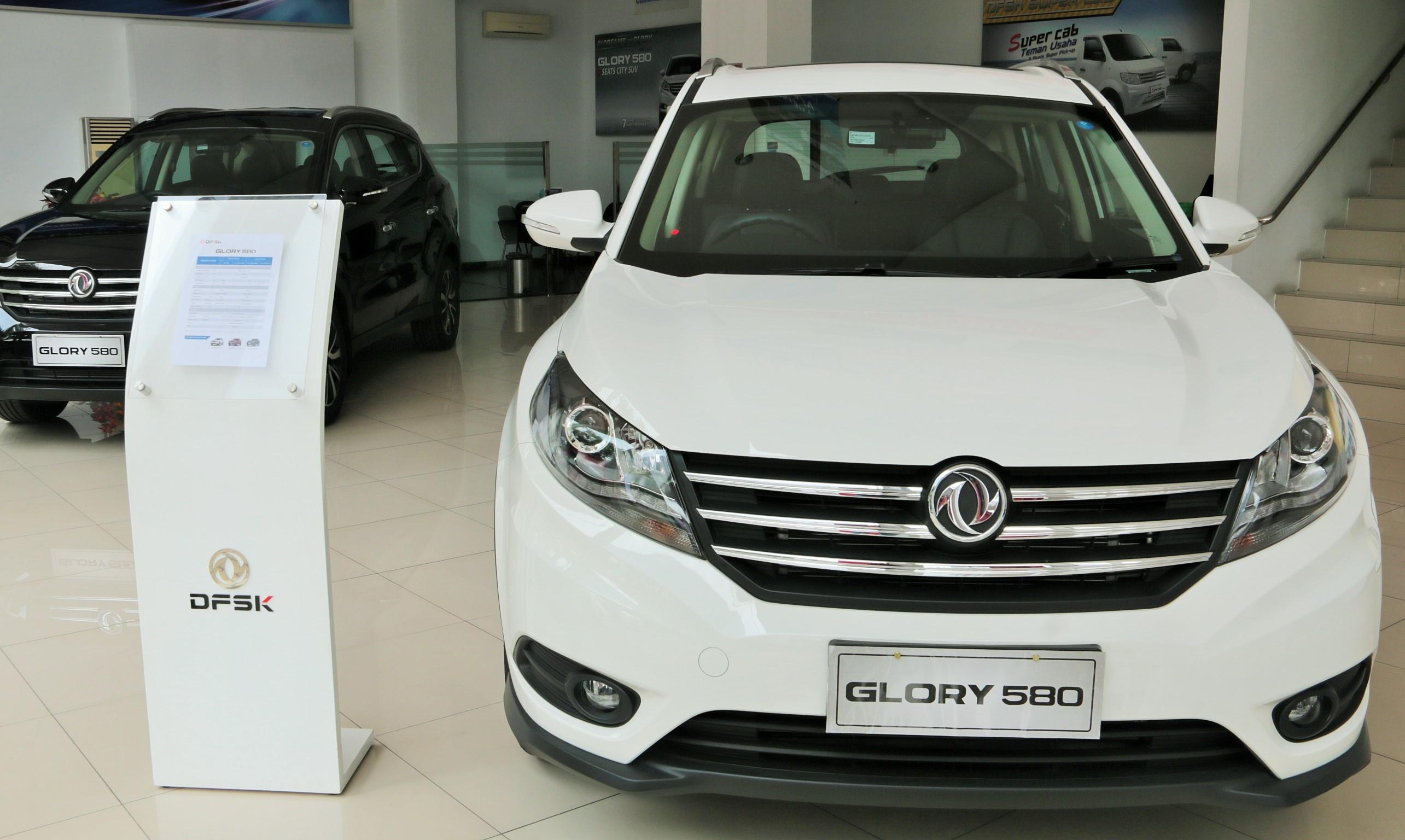 DFSK Glory 580 Tetap Tawarkan SUV Kurang Dari dari Rp250 Juta - [en]