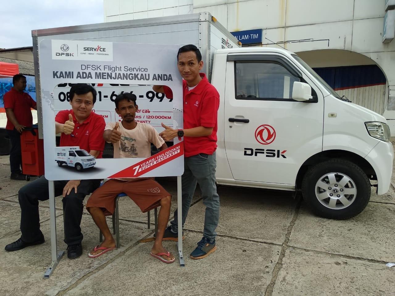DFSK Flight Service Sambangi Konsumen di Lampung - [en]