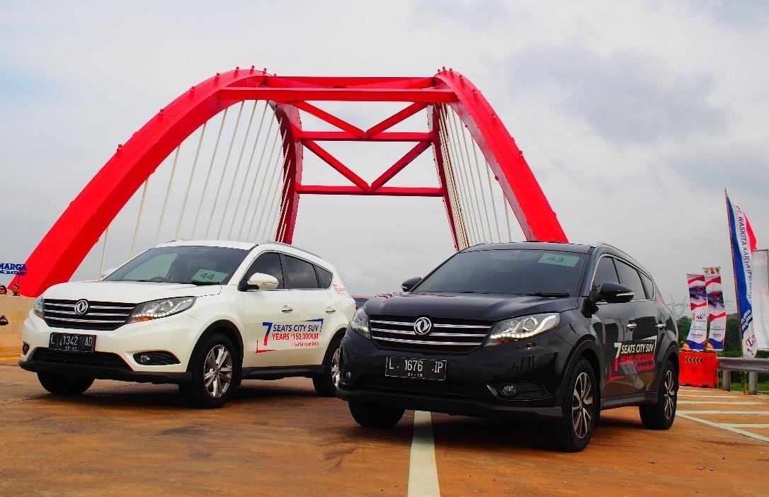 DFSK Turut Menyukseskan Ekspedisi Tembus Tol Trans Jawa 2018