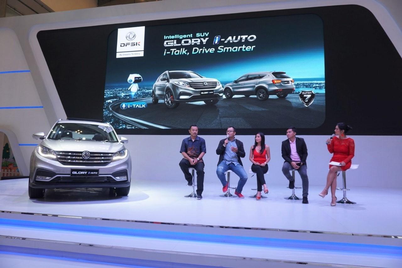 Rally Marina Terpukau Beragam Fitur Pintar DFSK Glory i-Auto