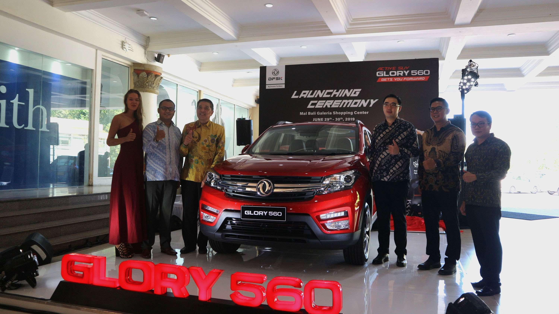 DFSK Glory 560 Meluncur di Pulau Bali Dipasarkan Mulai Harga Rp 199 Juta