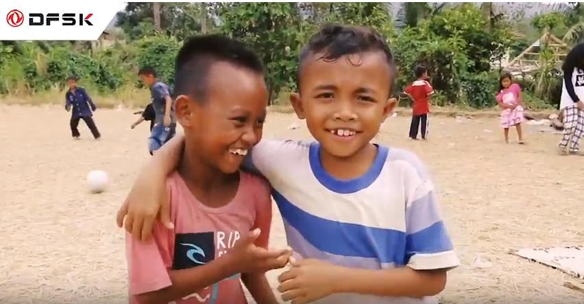 Dari DFSK Indonesia untuk Lombok