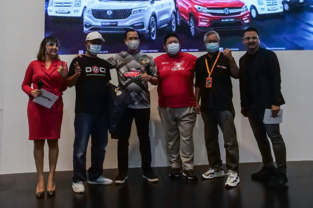 MEET AND GREET WITH COMMUNITY DFSK INDONESIA