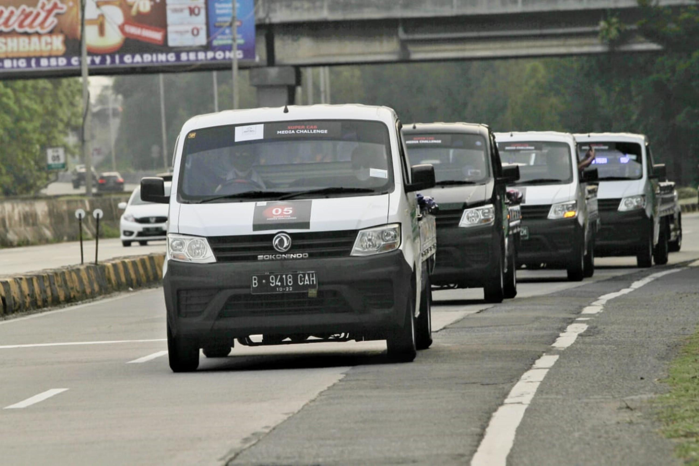 Pembuktian Efisiensi Bahan Bakar DFSK Super Cab Di Jalan Raya