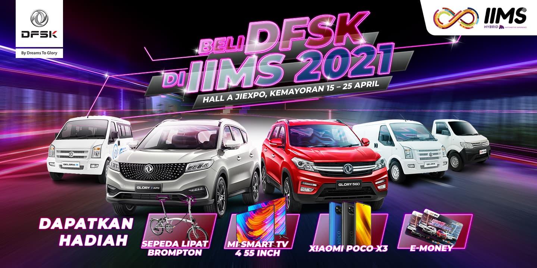 DFSK Banjir Promo dan Hadiah di IIMS Hybrid 2021